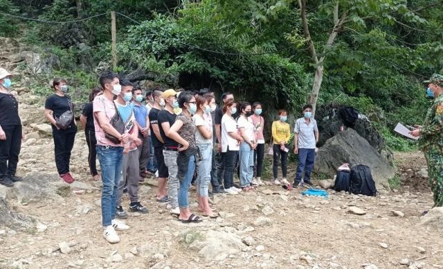 """Cao Bằng: Hơn 300 công dân """"vượt biên"""" trái phép trong 7 ngày"""