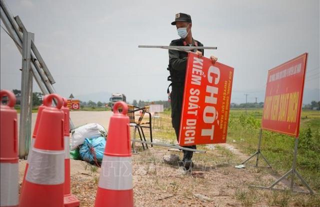 Huyện Yên Dũng chuyển sang giãn cách xã hội từ 6h00 ngày 22/6