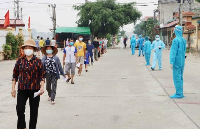 Bắc Giang: Đón 618 công dân từ các tỉnh phía Nam về quê bằng máy bay
