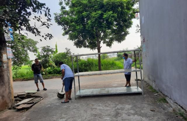"""Bắc Ninh: Sau 14 ngày """"sạch Covid-19"""", huyện Tiên Du không còn nơi bị phong tỏa"""