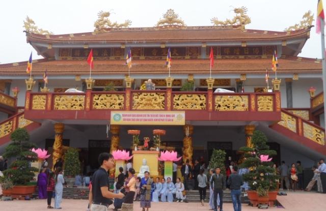 Quảng Bình: Trang trọng tổ chức Đại lễ khánh thành chùa Đại Giác