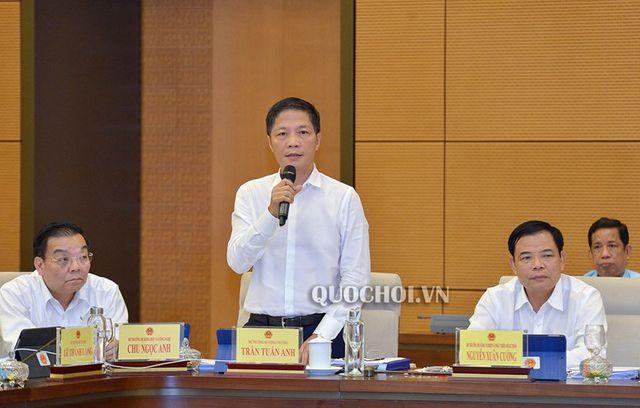 Bộ trưởng Công Thương, Công an báo cáo vụ xăng giả, vụ Asanzo