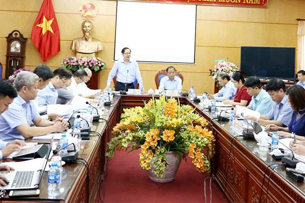 Tổ công tác về kiểm tra công vụ của Thủ tướng làm việc với tỉnh Bắc Kạn