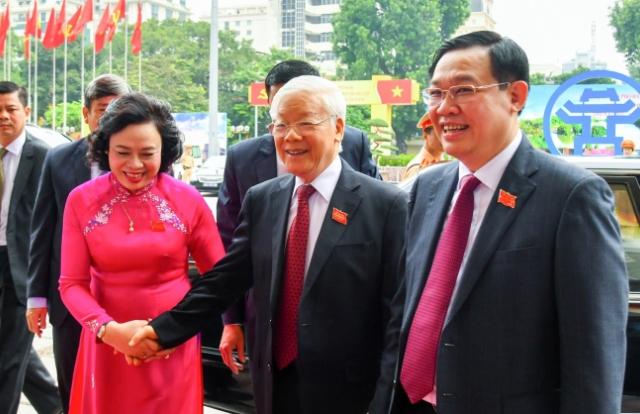 Tổng Bí thư, Chủ tịch nước Nguyễn Phú Trọng dự Đại hội Đảng bộ TP Hà Nội