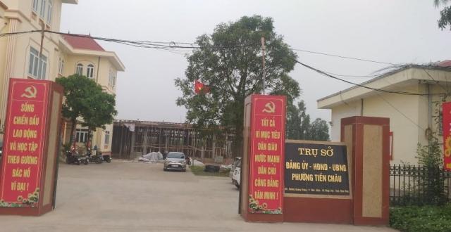 Uỷ ban bầu cử tỉnh Vĩnh Phúc yêu cầu làm rõ vụ Chủ tịch phường Tiền Châu bị tố cáo!
