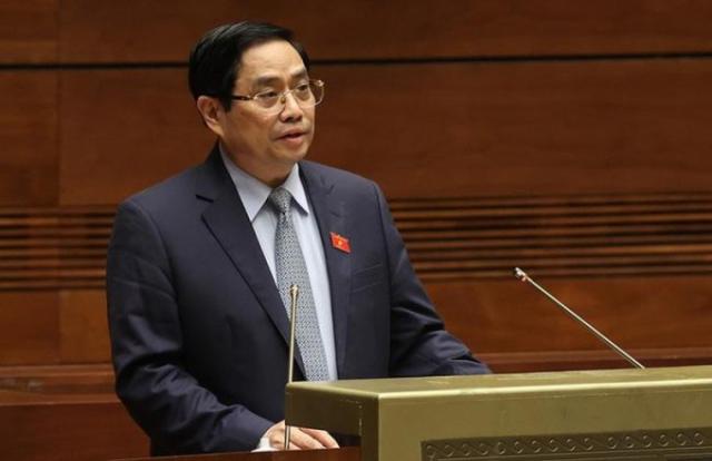 Thủ tướng đề nghị phê chuẩn bổ nhiệm 4 Phó Thủ tướng, 22 Bộ trưởng và thành viên khác của Chính phủ