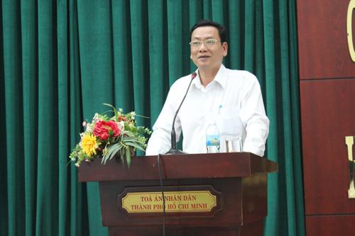 Vì sao ông Đỗ Khắc Tuấn, Phó Chánh án Tòa án nhân dân TP Hồ Chí Minh xin nghỉ việc?