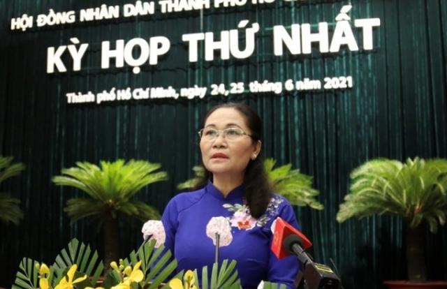 Bà Nguyễn Thị Lệ tái đắc cử Chủ tịch HĐND TP HCM nhiệm kỳ 2021-2026