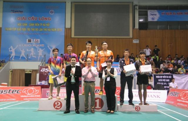 Sôi nổi Giải cầu lông học sinh - sinh viên TP Hà Nội