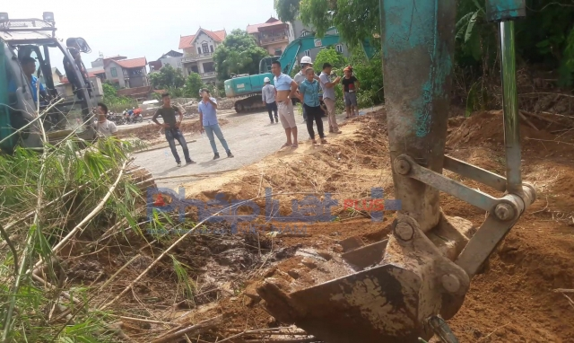 Quận Nam Từ Liêm: Chưa thỏa thuận đền bù với người dân, Hateco đã nhanh chóng thi công
