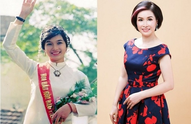 Nhan sắc ngày ấy – bây giờ của dàn hoa hậu Việt Nam
