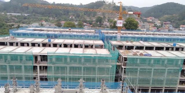 Dự án Apec Diamond Park Lạng Sơn bị đình chỉ thi công