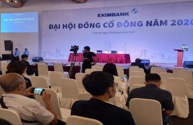 Eximbank bị tố cáo vi phạm quyền cổ đông