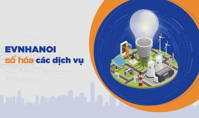 EVNHANOI số hóa các dịch vụ điện
