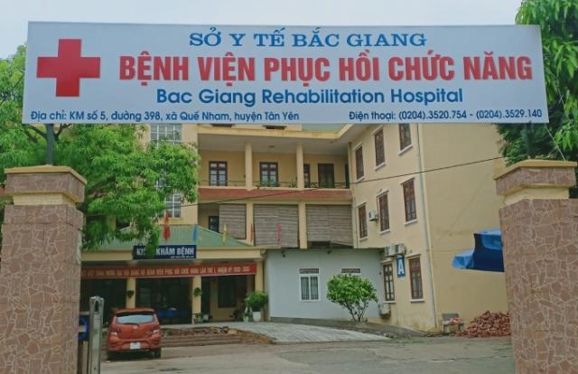 """Công ty Thiết bị Y tế Nguyên Hồng Việt Nam nhà thầu """"ruột"""" của Bệnh viện Phục hồi chức năng Bắc Giang"""