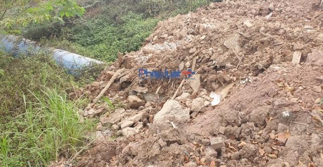 Yêu cầu Công ty TNHH Xây dựng Tân Thịnh báo cáo vụ đổ thải trộm