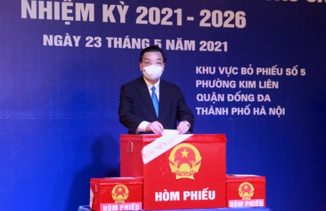 Chủ tịch UBND TP Hà Nội Chu Ngọc Anh: Thành phố quyết tâm tổ chức tốt cuộc bầu cử
