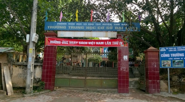 Gói thầu xây trường học tại Tam Đảo, Vĩnh Phúc: Tiêu chí có lợi cho nhà thầu bản địa