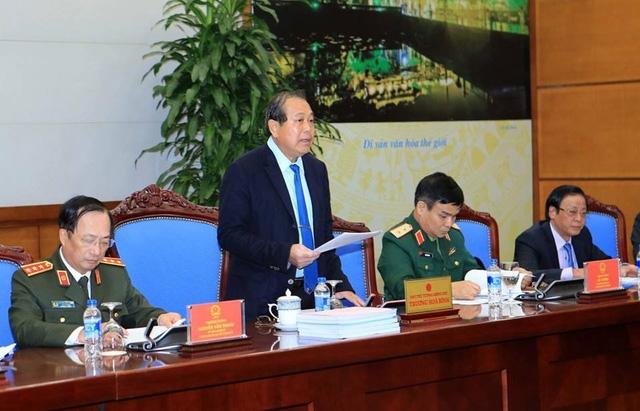 Phó Thủ tướng Trương Hòa Bình chủ trì cuộc họp Hội đồng Tư vấn đặc xá