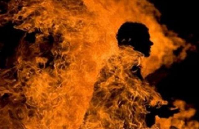 Nghi án tưới xăng lên vợ cũ để đốt vì không được chia tài sản