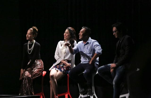"""Đạo diễn Quang Dũng ấn tượng mạnh mẽ với cách diễn xuất của """"nàng thỏ"""" Thiên Nga team Minh Tú"""