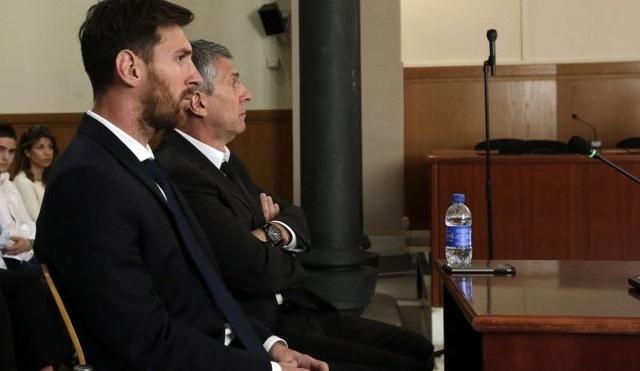 Messi lĩnh án 21 tháng tù vì trốn thuế