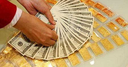 Vàng chạm đáy, giảm 100 nghìn đồng/lượng