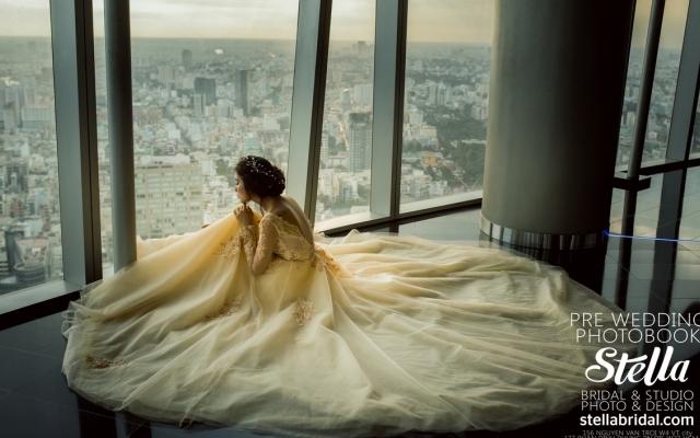 """Chùm ảnh: """"Chụp ảnh cưới view 360 độ từ trên cao tại Sài Gòn"""""""