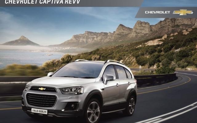 Chevrolet Captiva mới có mặt tại Việt Nam với giá 879 triệu đồng