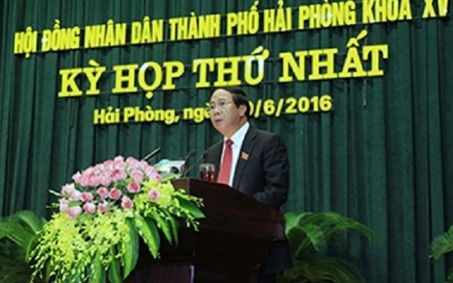 Ông Nguyễn Văn Tùng đảm nhiệm chức danh Chủ tịch UBND TP Hải Phòng