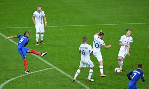Chi tiết Pháp vs Iceland: Cơn mưa bàn thắng
