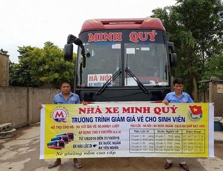 Thanh Hóa: Hỗ trợ vé xe giá rẻ cho học sinh, sinh viên đầu năm học mới