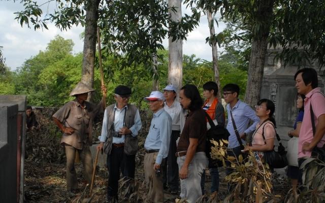 Thăm dò khảo cổ nơi nghi có dấu tích lăng mộ vua Quang Trung