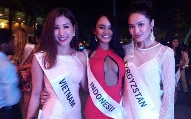 Bảo Như rạng rỡ tại Hoa hậu Liên lục địa 2016