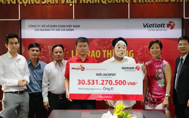 Kết quả Vietlott ngày 10/2: 31 tỷ đồng giải Jackpot đã có chủ