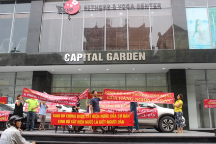 Lùm xùm tại chung cư Capital Garden: Chủ đầu tư và BQL tòa nhà nói gì?