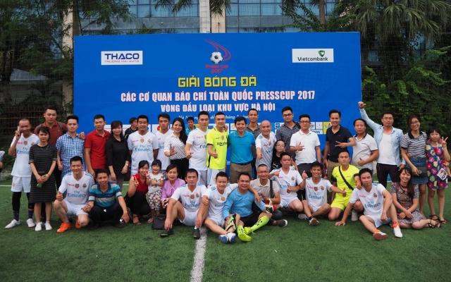Hà Nội: Chuẩn bị diễn ra Giải bóng đá do báo Kinh doanh và Pháp luật tổ chức