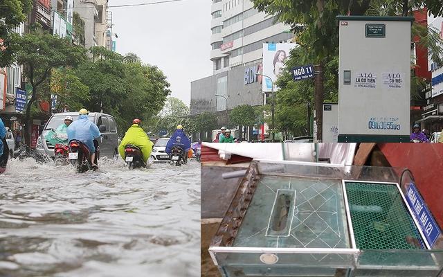 """Một nhà sáng chế ở Hà Nam xin hiến kế giải quyết """"nạn'' ngập lụt cục bộ tại các đô thị Việt Nam"""