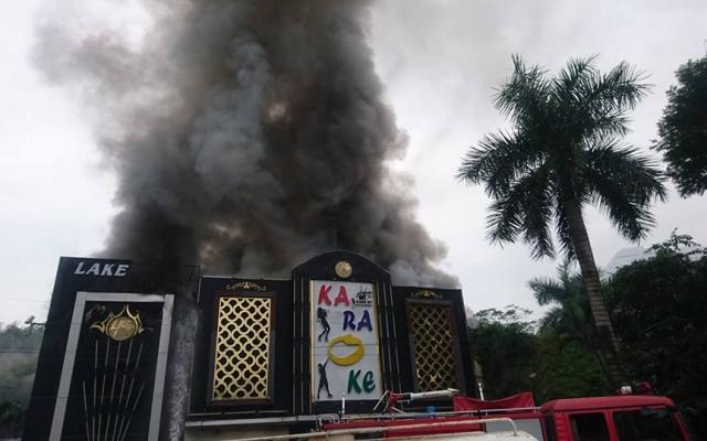 Quán karaoke bị cháy trên đường Linh Đàm là của Công ty HUDS