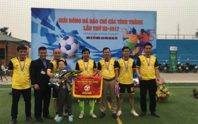 Cúp bóng đá Báo chí các tỉnh thành lần 3: Thanh Hóa, Nam Định và Nghệ An chia nhau 3 giải thưởng lớn