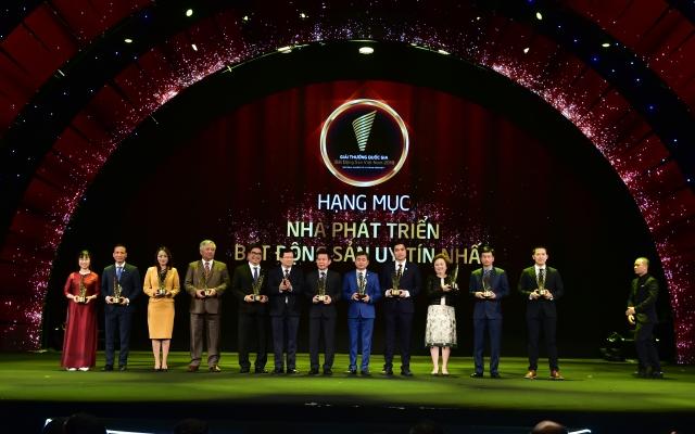 TP HCM: Tập đoàn Phúc Khang được tôn vinh tại Giải thưởng Quốc gia Bất động sản Việt Nam 2018