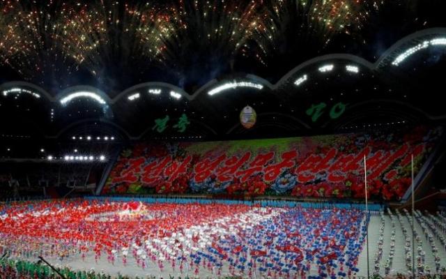 Video màn đồng diễn Mass Games Arirang trứ danh kỷ niệm Quốc khánh Triều Tiên