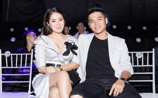 Vợ chồng Lê Phương tình tứ tham dự sự kiện mới