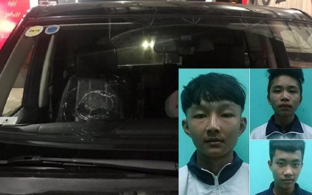 Công an triệu tập ba đối tượng ném đá ô tô trên cao tốc Hạ Long-Hải Phòng
