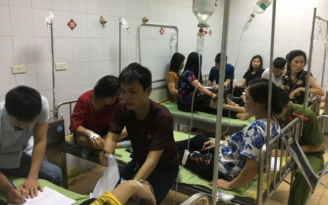 Hải Dương: Gần 100 công nhân công ty TNHH Ha Hae Việt Nam nhập viện nghi ngộ độc thực phẩm