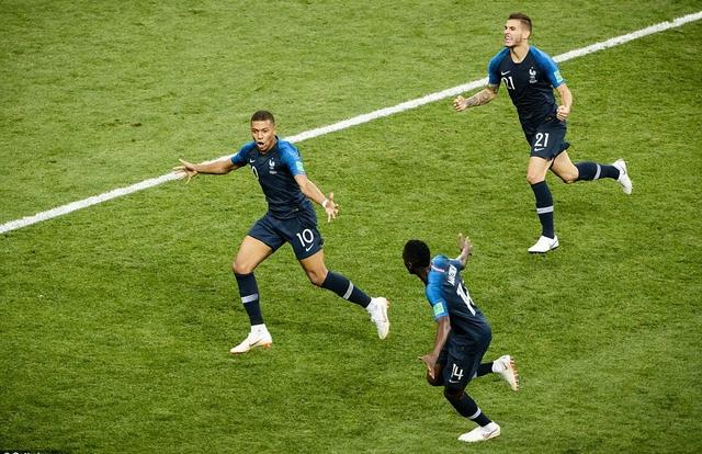 Pháp vs Croatia, những khoảnh khắc kinh điển ở trận chung kết World Cup 2018