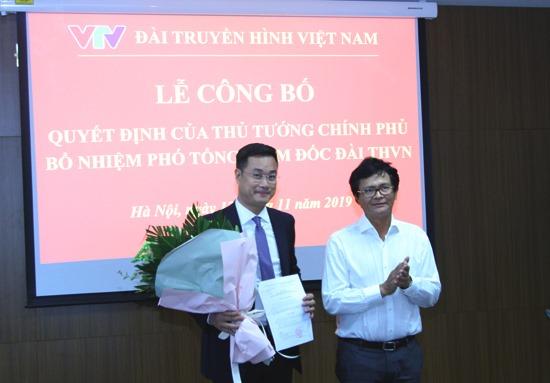 Ông Lê Ngọc Quang giữ chức Phó Tổng Giám đốc Đài Truyền hình Việt Nam