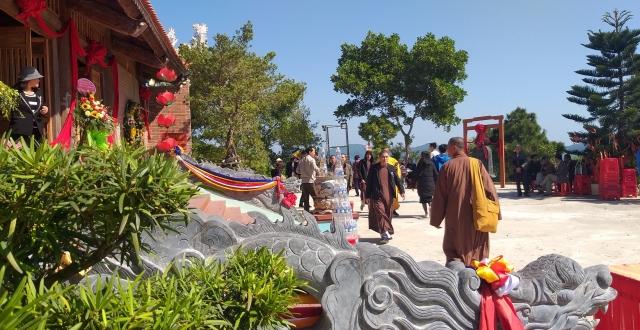 Khánh thành chùa Cô Tô- Cột mốc văn hóa tâm linh trên vùng biển đông bắc Tổ Quốc