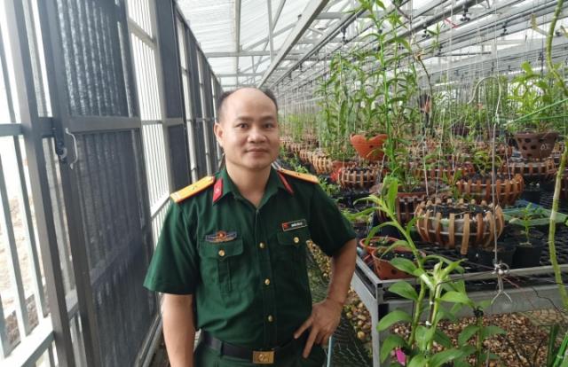 Nguyễn Tiến Lợi - Chàng sĩ quan giàu lòng nhân ái