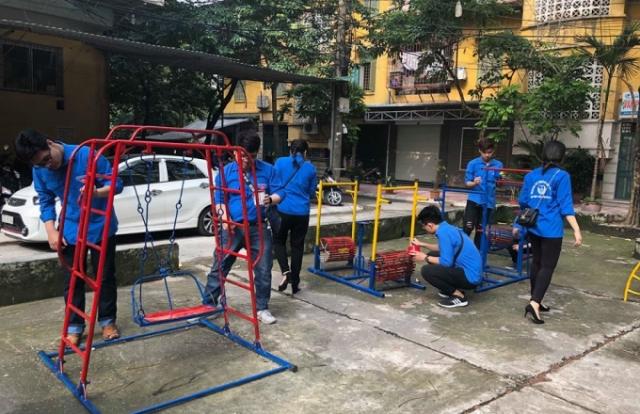 Đoàn TNCS Hồ Chí Minh quận Ba Đình phát động Chiến dịch Thanh niên tình nguyện hè năm 2018
